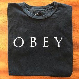 Obey Black Tee